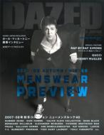 DAZED & CONFUSED JAPAN SPECIAL ISSUE 2007-08 AUTUMN/WINTER MEN 2007