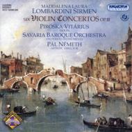ヴァイオリン協奏曲集 ヴィターリウシュ(ヴァイオリン)ネーメト&サヴァリア・バロック・オーケストラ(2CD)