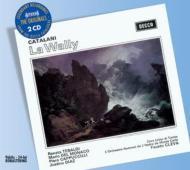 歌劇『ラ・ワリー』全曲 テバルディ、デル・モナコ、カップチッリ(2CD)