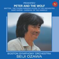 プロコフィエフ:ピーターと狼、サン=サーンス:動物の謝肉祭、他 小澤征爾