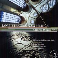 合唱作品集第1集 フィリップス、コープマン、クリスティ指揮オランダ室内合唱団
