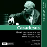 Piano Concerto.24, 27: Casadesus(P)Szell / Cologne Rso +weber