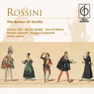 歌劇『セビリアの理髪師』全曲 レヴァイン&ロンドン響、シルズ、ミルンズ、ゲッダ、カペッキ(2CD)