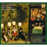 First Book Of Consort Lessons: Denecker / La Caccia