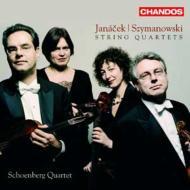 弦楽四重奏曲第1番、第2番、他 シェーンベルク四重奏団