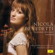 Song Of Athene, Etc: Benedetti(Vn)Litton / Lpo +vaughan-williams