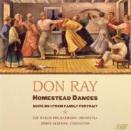西部入植者の踊り、家族の肖像 グリーソン&ダブリン・フィル
