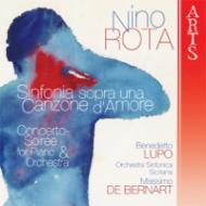 ある愛の歌による交響曲、夕べの協奏曲 デ・ベルナール&シチリア交響楽団