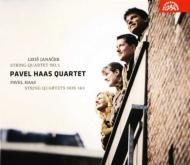 弦楽四重奏曲第1番、第3番、他 パヴェル・ハース四重奏団