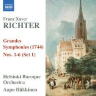 6つのシンフォニア ハッキネン&ヘルシンキ・バロック・オーケストラ