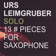 Solo-13 Pieces For Saxophone