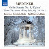 ヴァイオリンとピアノのための作品全集第1集 カヤレイ(vn)スチュアート(p)