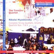String Quartet.7, 8: Taneyev Q