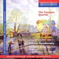 String Quartet.9, 10, 11: Taneyev Q