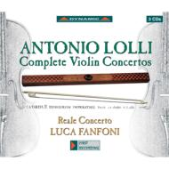 ヴァイオリン協奏曲全集 ファンフォーニ、レアル・コンチェルト(3CD)