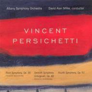交響曲第3番、第4番、第7番『典礼風』 ミラー&オールバニー交響楽団(2CD)
