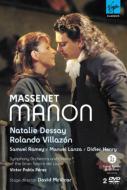 『マノン』全曲 マクヴィカー演出、ペレス&リセウ大劇場、デセイ、ヴィラゾン、ラメイ(2DVD)