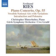 ピアノ協奏曲第3番、他 ヒンターフーバー(p)グロット&イェヴレ交響楽団