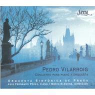 ピアノ協奏曲、弦楽四重奏曲第1番、他 ペレス(p)クレメンス&プラハ響、アレクセーエワ弦楽四重奏団