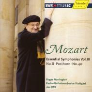モーツァルト(1756-1791)/Sym.8 Sym.40 From Serenade.9: Norrington / Stuttgart Rso