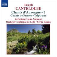 オーヴェルニュの歌第2集 ジャンス(S)ボド&リール国立管弦楽団