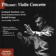 ヴァイオリン協奏曲、他 タシュナー(vn)ケンペ&RIAS交響楽団