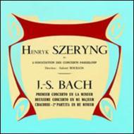 ヴァイオリン協奏曲第1番、第2番 シェリング(vn)ブイヨン&コンセール・パドルー管弦楽団