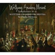 モーツァルト(1756-1791)/Sym 38 39 40 41 : Mackerras / Scottish Co (Hyb)