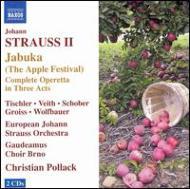 『ヤーブカ、またはりんご祭り』 ポラック&ヨーロッパ・ヨハン・シュトラウス管(2CD)