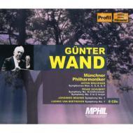 ブルックナー:交響曲第4・5・6・8・9番、他 ヴァント&ミュンヘン・フィル(8CD)
