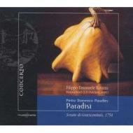 鍵盤楽器のための12のソナタ第1〜6番 ラヴィッツァ(cemb)