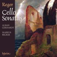 チェロ・ソナタ、無伴奏チェロ組曲集 ゲルハルト(vc)ベッカー(p)(2CD)