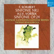 シューベルト:交響曲第1番、ヴォルジーシェク:交響曲 ヘンゲルブロック&ドイツ・カンマーフィルハーモニー