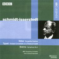 ブラームス:交響曲第4番、ウェーバー:『オイリアンテ』序曲 シュミット=イッセルシュテット&BBC響(ステレオ)
