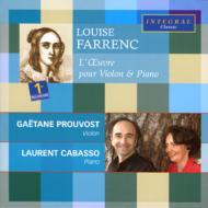 ヴァイオリンとピアノのための作品全集 プルヴォスト(vn)、カバッソ(p)