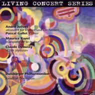 ジョリヴェ:ピアノ協奏曲、ラヴェル:夜のガスパール(管弦楽版) ギャレ、ダーリントン&デュースブルク・フィル