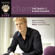 フィンジ:ディエス・ナタリス、ウォルトン:弦楽合奏のためのソナタ スペンス(T)モートン&スコティッシュ・アンサンブル