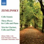 クラリネットとチェロとピアノのための三重奏曲、チェロ・ソナタ、ほか オッテンザマー(cl)、ミュラー(vc)、ヒンターフーバー(pf)