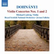 ヴァイオリン協奏曲第1番、第2番 ルードヴィヒ(vn)、ファレッタ&ロイヤル・スコティッシュ管