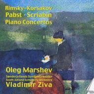 ピアノ協奏曲集(リムスキー=コルサコフ、パブスト、スクリャービン) マルシェフ(p)ジヴァ&南ユラン響