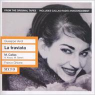 La Traviata: Ghione / Teatro San Carlo Callas A.kraus Sereni