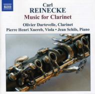 Music For Clarinet: Dartevelle(Cl)Schils(P)Xuereb(Va)