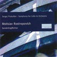 Cello Concerto,  2,  Sonata:  Rostropovich(Vc)K.sanderling  /  Leningrad Po S.richter(P)