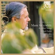 パーセル(1659-1695)/Music For A While: Deller(Ct) W.kuijken(Gamb) Christie(Cemb)