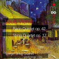 ピアノ五重奏曲、弦楽四重奏曲 シュピーゲル弦楽四重奏団、ケンデ(pf)