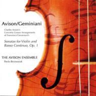 (Avison)12 Violin Sonatas Op.1: P.beznosiuk / The Avison Ensemble