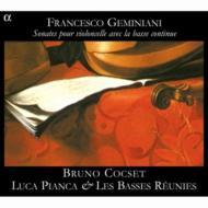 Cello Sonatas, Etc: Cocset(Vc)Les Basses Reunies