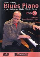 Learn To Play Blues Piano: Dvd 4