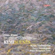ヴァイオリン協奏曲、組曲、他 カウッピネン(vn)、スロボデニューク&キュミ・シンフォニエッタ