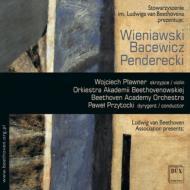Violin Concerto, 2, : Plawner(Vn)Przytocki / Beethoven Academy O +bacewicz, Penderecki